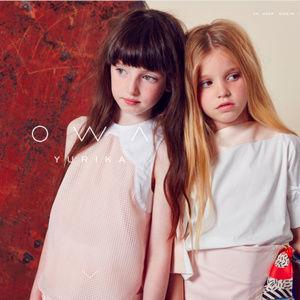 NEW OWA YURIKA Designer Dress Girls 6-8